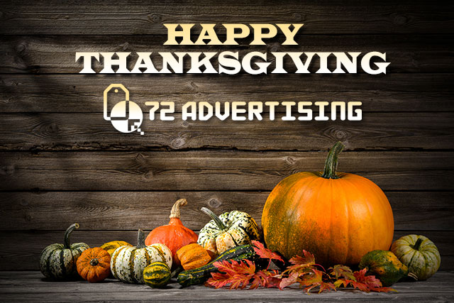 72 Advertising Thanksgiving