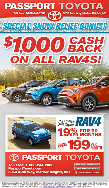 Toyota RAV4 Eblast by 72 Advertising