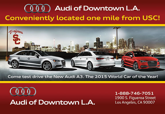 We Love Doing Specialty Ads Like This For Audi Of Downtown LA - Audi downtown la