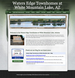 Waters Edge Townhomes website