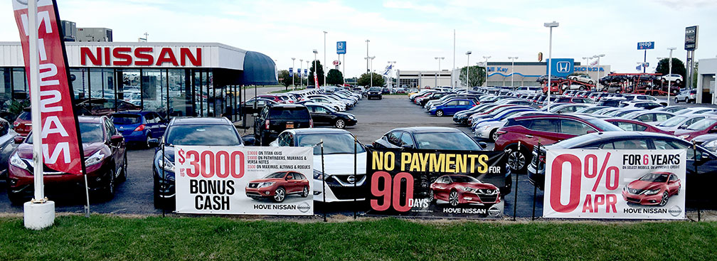 Auto Dealership Banners